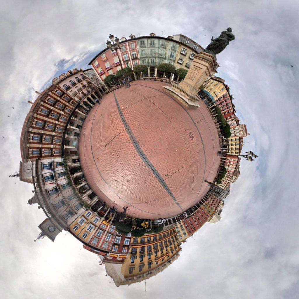 Plaza Mayor, Burgos - Tiny Planets