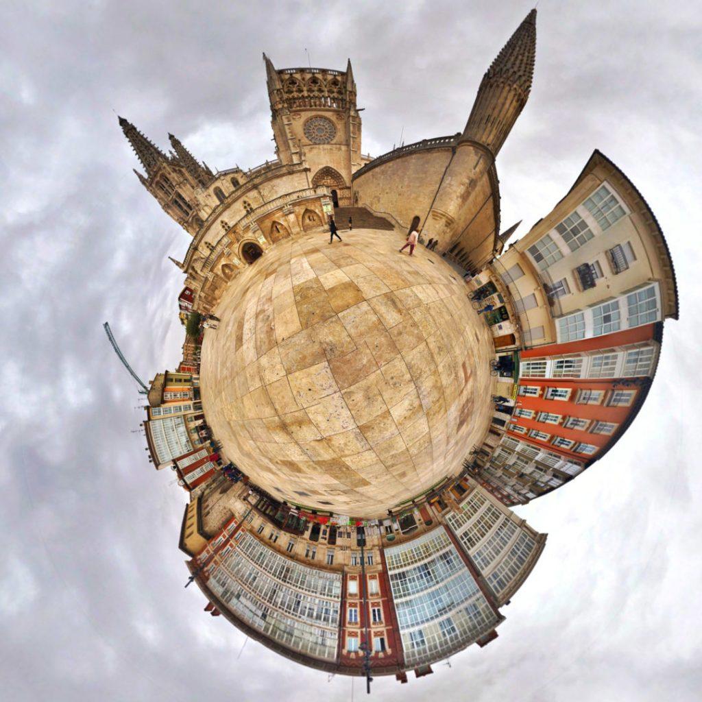 Catedral de Burgos - Tiny Planets