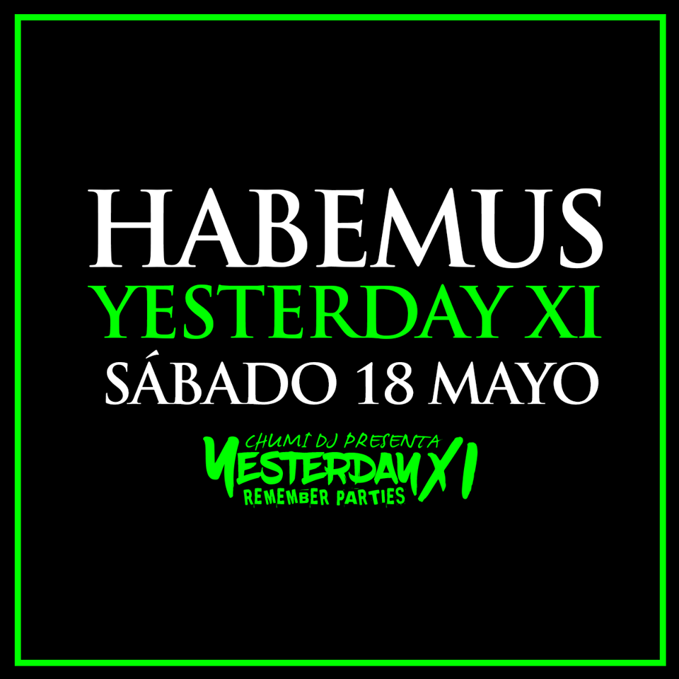 Habemus Yesterday 11